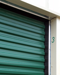 Brush Seals Are The Only Weather Stripping That Is Able To Seal The  Irregular Surface Of The Corrugated Rolling Curtain Doors Used For Self  Storage ...